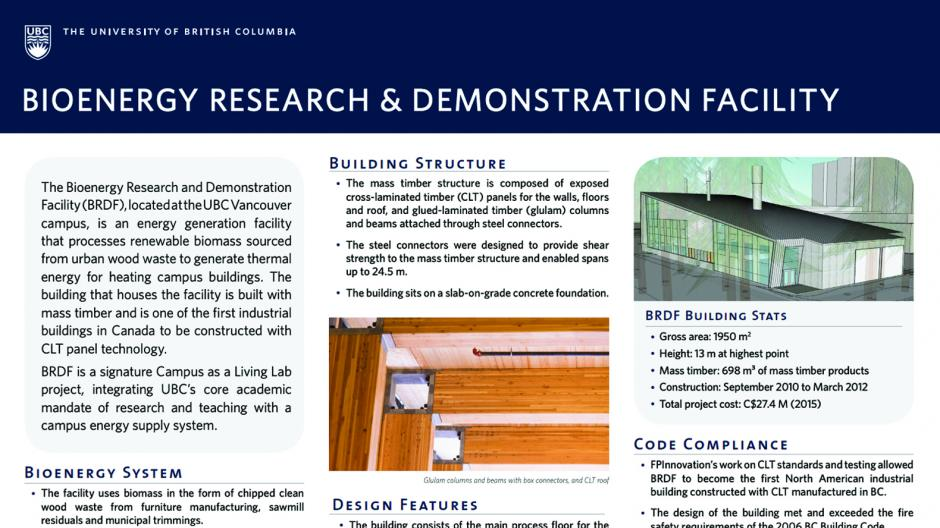 Bioenergy Research Demonstration Facility